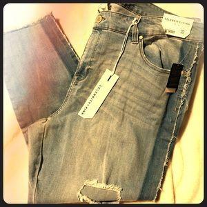 Celebrity Pink distressed jeans